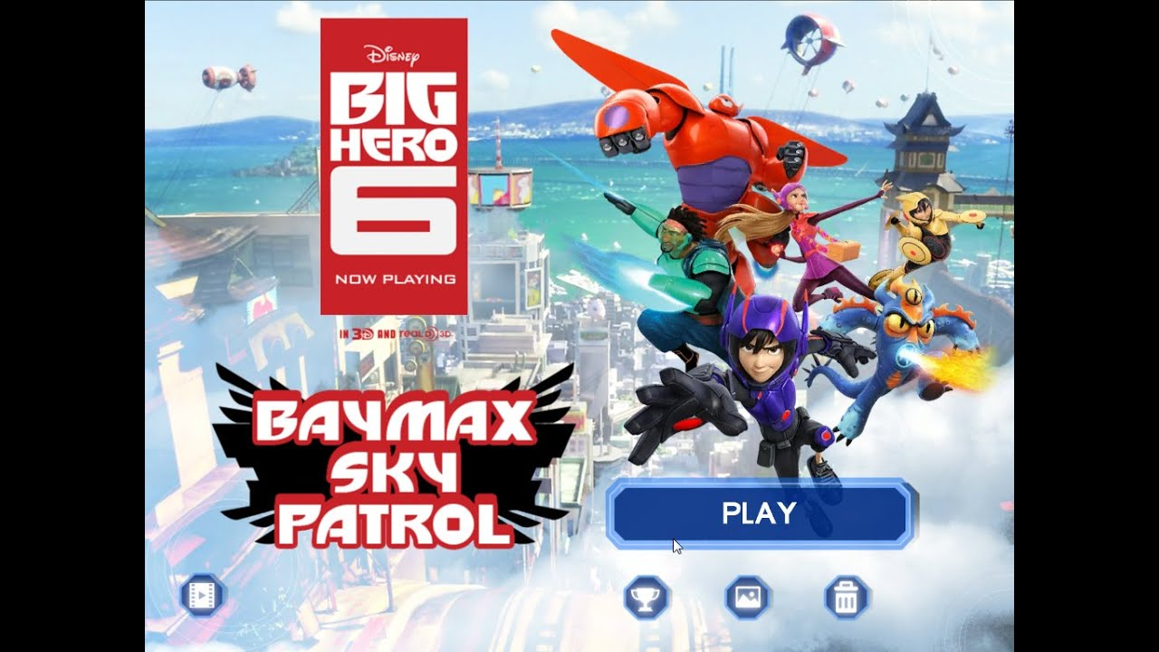 Games: Big Hero 6 – Baymax Sky Patrol