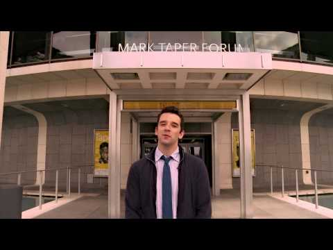 "Michael Urie in ""Buyer & Cellar"" at the Mark Taper Forum"