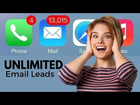 Email Lead Generation That Pros Use – 2019 – UNLIMITED LEADS