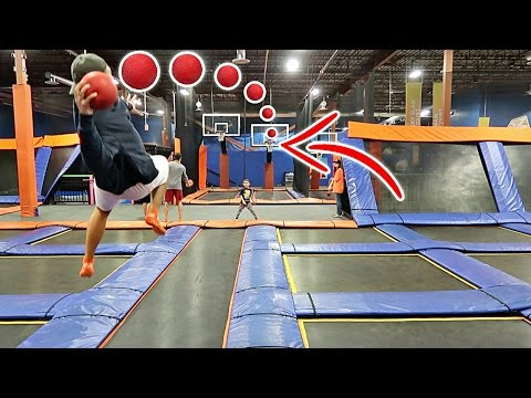 Thumbnail: IMPOSSIBLE TRAMPOLINE BASKETBALL TRICK SHOTS!!