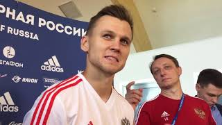 Денис Черышев: Не расстроился, что Роналду обогнал в гонке бомбардиров