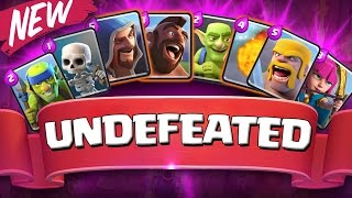 I'M UNDEFEATED  ::  Clash Royale  ::THIS STRATEGY IS INSANE