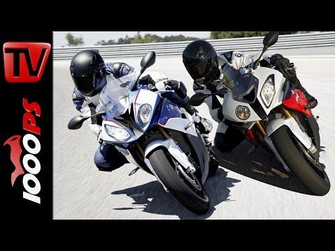 BMW S 1000 RR 2015 vs S 1000 RR vs HP4 | Technikvergleich