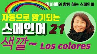[스페인어 단어공부 ] 색깔 정리 #colores #스…
