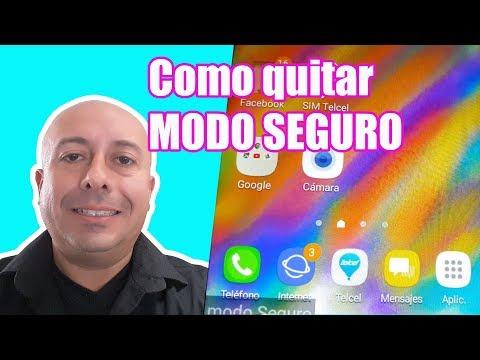 Como quitar el modo seguro de mi celular Android Samsung Grand Prime Plus J2