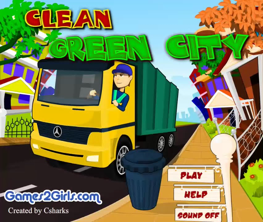 clean green city game show game play 2015 hd youtube. Black Bedroom Furniture Sets. Home Design Ideas