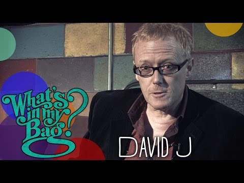 David J - What's In My Bag?