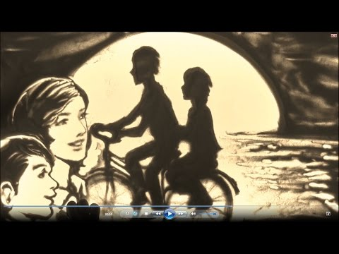 The bike in my memory - Lê Phong Giao Sand Art [Oficcial]