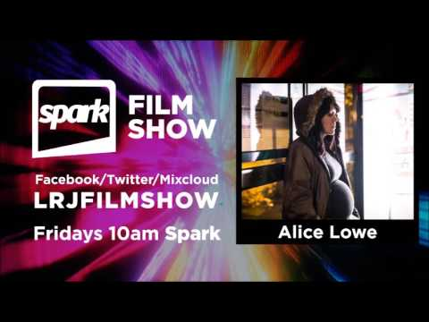 Alice Lowe, writer, director and star of horror comedy Prevenge (Spark Film Show)