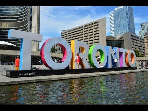Торонто за 12 часов. Что посмотреть в Торонто за полдня.