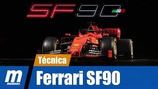 Análisis técnico | Ferrari SF90 | Fórmula 1 2019