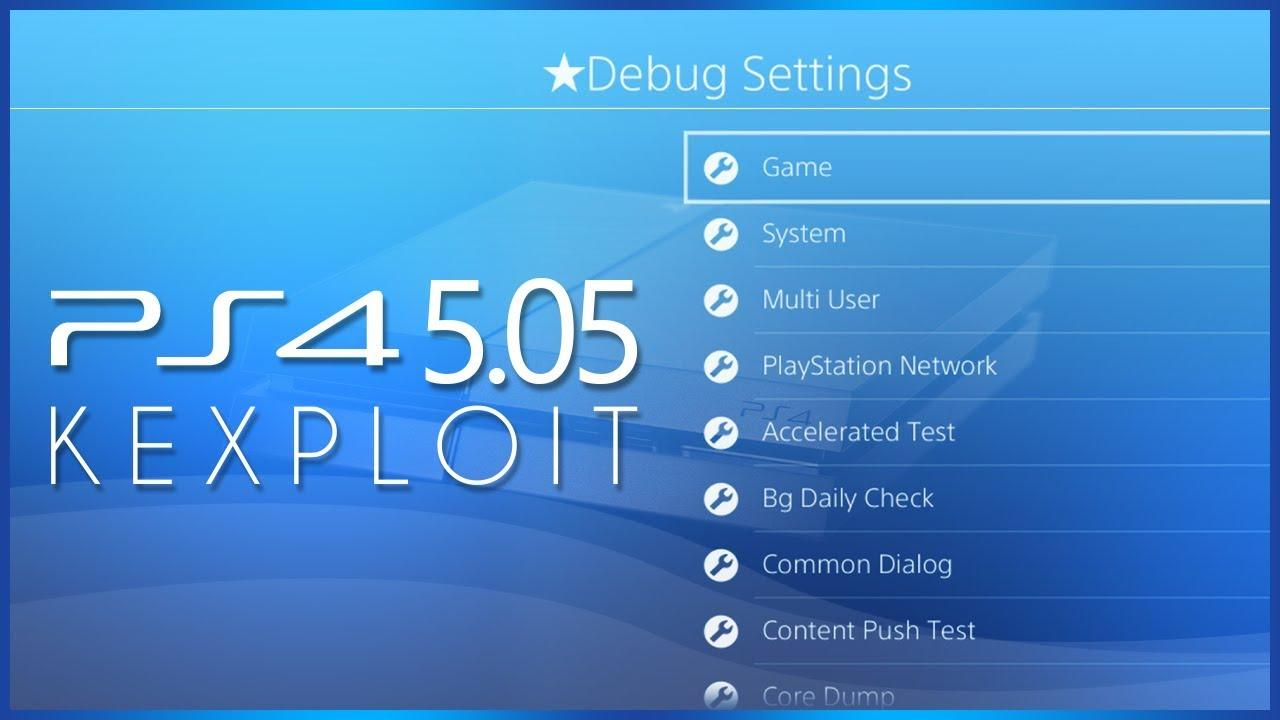 PS4 Kernel Exploit 5 05 by SpecterDev, Kernel Dumper and