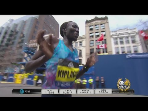 Edna Kiplagat Wins Women's Division At Boston Marathon
