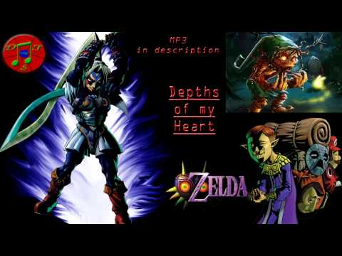 LoZ: Majora's Mask Remix - Depths of my Heart [Song of Healing, Stone Tower Temple]