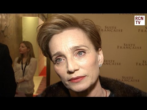Kristin Scott Thomas Interview - Suite Francaise Premiere