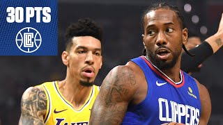 Kawhi scores 30 in Clippers debut vs. LeBron & the Lakers | 2019-20 NBA Highlights