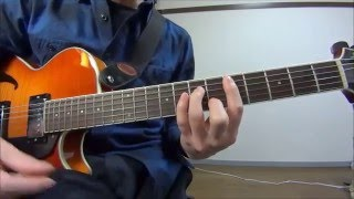 デイヴィッド・T・ウォーカーの手癖をマネしよう 【ギタリスト手癖練習】 3分レッスン #10