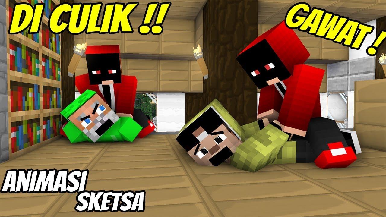 Download Lucu - Erpan Diculik Penjahat Misterius ( Animasi Minecraft Indonesia )