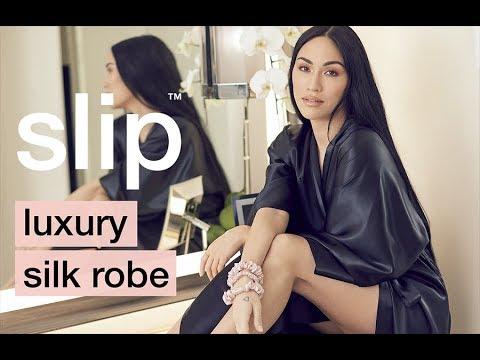 Slip Luxury Silk Robe - The Perfect Addition To Your Sleepwear