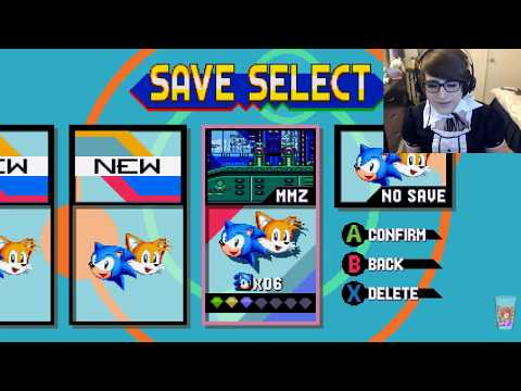 Trap, Plays Sonic Mania Blind. Twitch isn't working edition