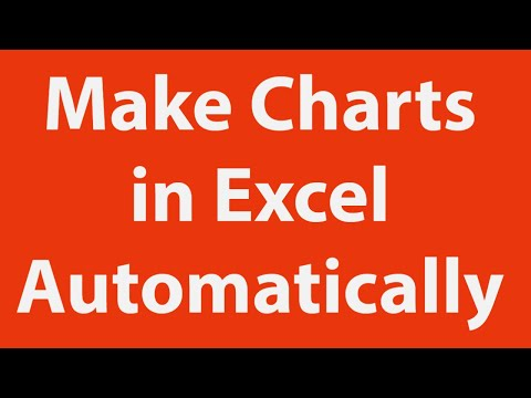 Automate chart creation using excel macros youtube automate chart creation using excel macros ccuart