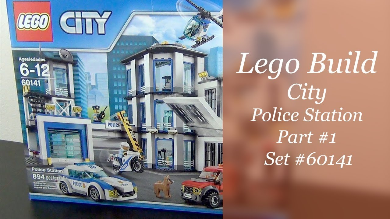 Let's Build - LEGO City Police Station Set #60141 - Part 1 ...