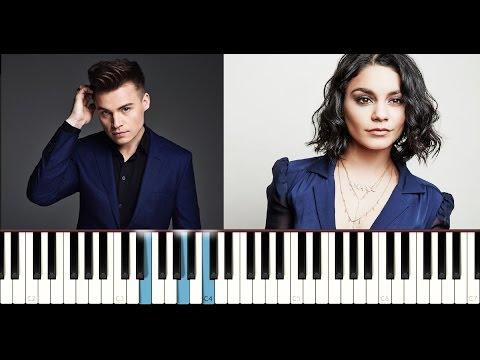 Shawn Hook ft. Vanessa Hudgens - Reminding Me (Piano Tutorial)