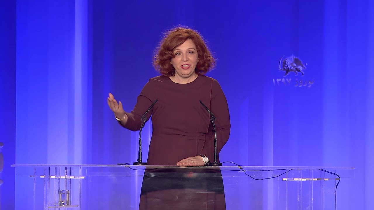 Speech by Mrs. Elona Gjebrea in the Iranian New Year celebration of the Iranian Resistance