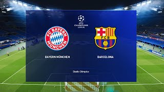 This video is the gameplay of barcelona vs bayern munich - champions league 14 aug 2020 prediction if you want to support on patreon https://www.patreon.com/...