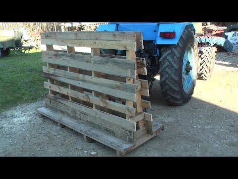 DIY Square Bale Feeder