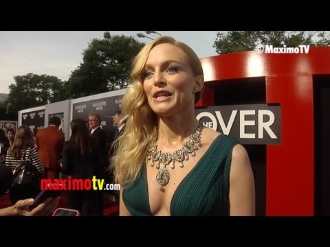 """Heather Graham Interview """"The HANGOVER Part III"""" Los Angeles Premiere"""