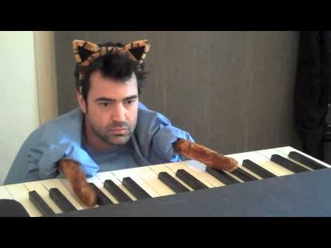 Ron Livingston The Keyboard Cat Redux