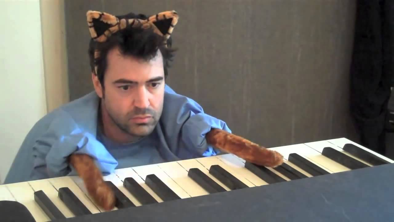 ron livingston the keyboard cat redux   youtube