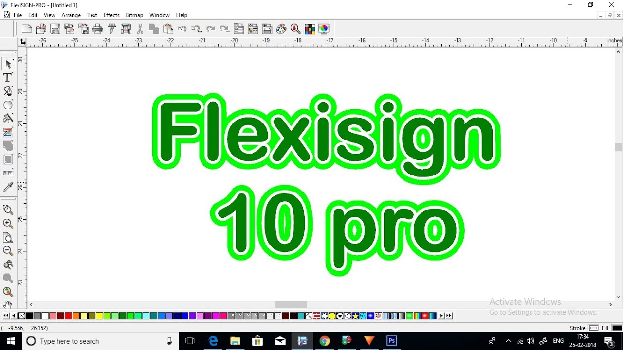 Flexisign Pro 10 Work In X64 Bit Windows Youtube