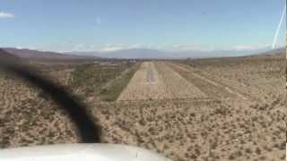 Landing At Chiriaco Sumit, CA (L77) During the AOPA Aviation Summit In Palm Springs