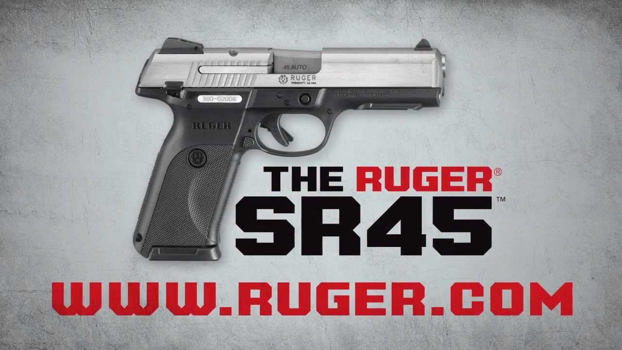 Ruger Sr45 Youtube