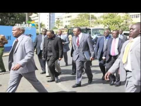 Uhuru Kenyatta's Road to Statehouse