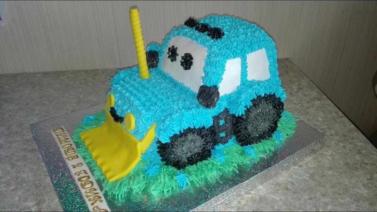 торт трактор из крема фото кафельной