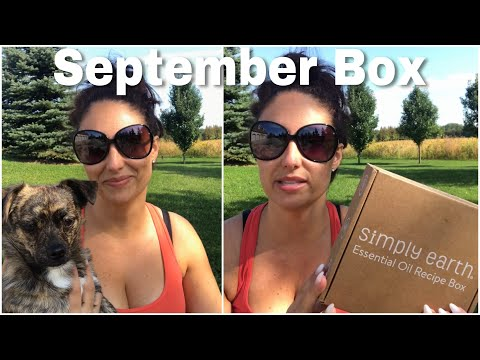 Simply Earth Essential Oil September Box Review