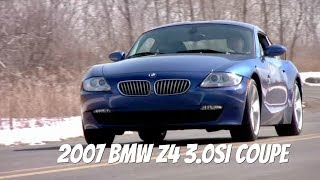 2007 BMW Z4 3.0si Coupe - Throwback Video Test Drive with Chris Moran