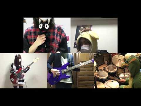 [HD]Kobayashi-san Chi no Maid Dragon OP [Aozora no Rhapsody] Band cover