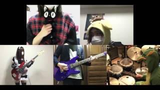 [HD]Kobayashi-san Chi no Maid Dragon OP [Aozora no Rhapsody] Band cover thumbnail