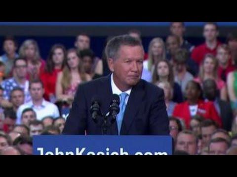 Ohio Gov. Kasich announces 2016 presidential bid