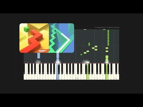 Dancing Line  The Storm  Custom Arrangement Synthesia Tutorial + MIDI + PDF