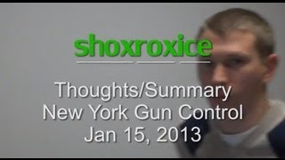 New York Gun Control 2013