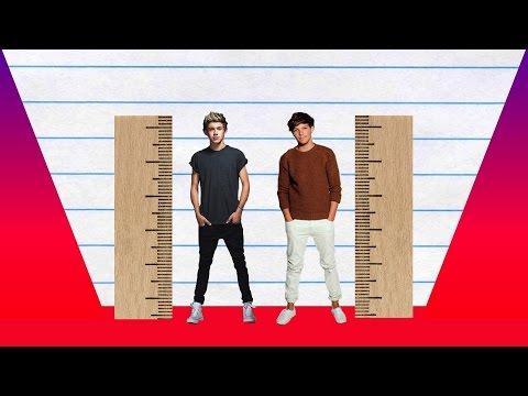 How Much Taller? - Niall Horan vs Louis Tomlinson!