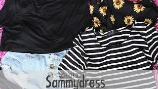 Recebidos/Compras - Sammydress (China)