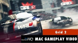 Grid 2 Mac gameplay by MacGamerHQ.com