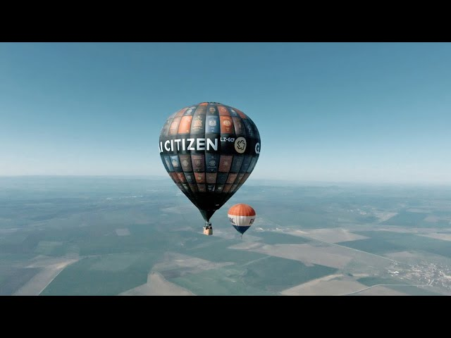 DJI FPV Drone - HIGH IN THE SKY WITH HOT AIR BALLOONS!