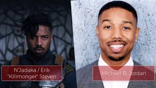 Black Panther Cast in Real Life